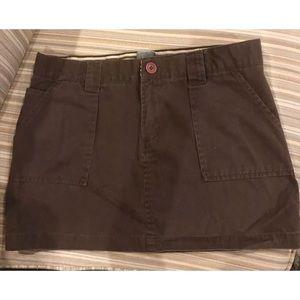 🌸3/$15🌸 ROXY Brown Skirt Size 7